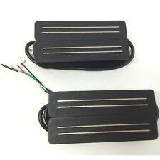 Bare Knuckle Impulse Calibrated 7-String Humbucker Pickup Set, Black +Picks