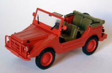 DKW Munga 4 Fire Brigaden Open 1:43 Model STARLINE MODELS