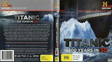 Titanic - 100 Years In 3D or 2D  (Blu-ray 3D, 2012) Region B