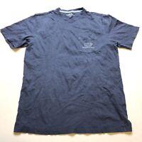 Vineyard Vines Dark Blue Short Sleeve Graphic Whale T-Shirt Sz M A1900