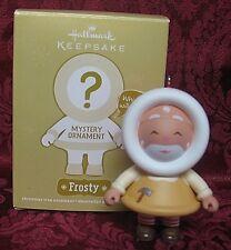 HALLMARK 2011 MYSTERY FROSTY ORNAMENT~TOYMAKER SANTA