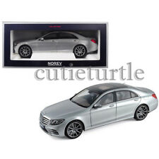 Norev 2018 Mercedes Benz S Class AMG 1:18 Diecast Car 183479 Silver