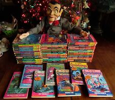 1-62 COMPLETE GOOSEBUMPS BOOKS ORIGINAL & NEWER EDITION COVERS & SLAPPY DOLL