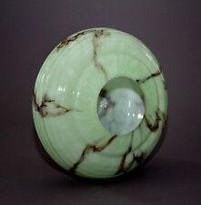 Lampenschirm Art Deco Glas marmoriert - . -(61)