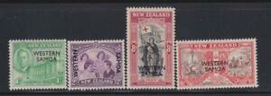 PEACE08 -  PEACE VICTORY STAMPS NEW ZEALAND  OVERPRINTED WESTERN SAMOA 1946  MNH
