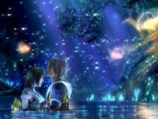 Final Fantasy X FF10 Romance Art Silk Poster Decor 24x36inch