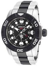 Invicta 20186 52mm Sea Base Quartz GMT Stainless Steel Bracelet Watch