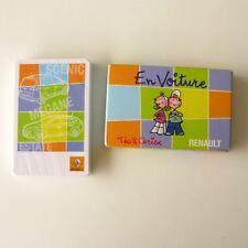 Ancien jeu de Cartes - 7 Familles - EN VOITURE - Publicitaire RENAULT - Neuf