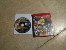 Naruto Shippuden Ultimate Ninja Storm Sony Playstation3 Ps3 games