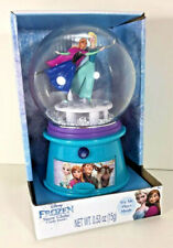 New Disney FROZEN Elsa Anna LET IT GO Song Musical Plastic MINI SNOW GLOBE Candy