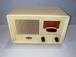 Vintage Nora Menuett tube radio AM/FM German 1950s tested working EUC