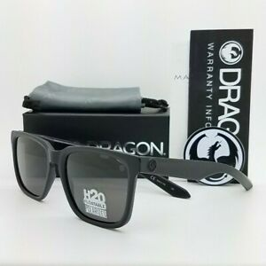 NEW DRAGON Baile H2O Floatable sunglasses Matte Black Grey Polarized AUTHENTIC