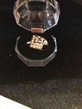 Large Crystal (Transparent color) Ring Gold – Size 9 Fashion Ships N 24h