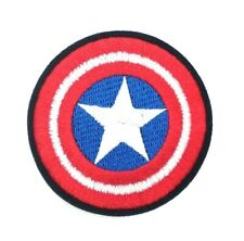 Captain America Shield Patch Iron on Full Embroidered patches 328
