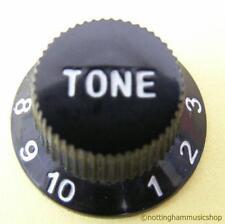 BLACK ELECTRIC GUITAR TONE CONTROL KNOB NEW ST CHEAP