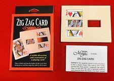 Zig Zag Card Magic Trick