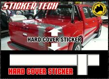 TOYOTA TRD HILUX 4000SL ORIGINAL STYLE 2004 - 2015 HARD COVER LID STICKER DECAL