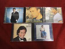 CD Julio  vs Enreque Iglesias Lot Of 5