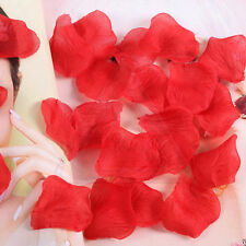 400 1000pcs Silk Rose Petals Fake Flower Wedding Birthday Decor Confetti  Red 1000pcs 9548212f67a9