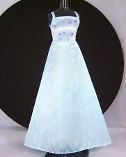 Barbie Midge Doll Clothes Blue Formal Fashion Avenue Edition Blue Gown Dress