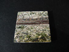 1 Real Polished Dark Veined Green Marble Dolls House Floor Tile* LIMITED STOCK *