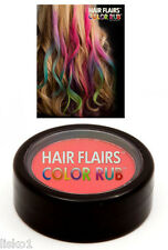 Hair Flairs Color Rub Temporary Vibrant Fun Hair Colors   .14 oz. (red) LMS