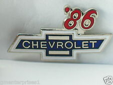 1986 Chevrolet Pin Badge Chevy Auto Pins lapel Hat Tack