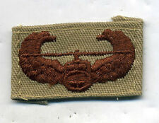 US Army AIR ASSAULT BADGE DCU Desert Tan Patch