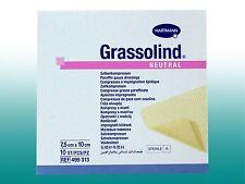 Grassolind Neutral Salbenkompressen 7,5x10cm , PZN 03245624  10 Stück