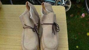 GEORGE COX TRUE VINTAGE ROCK 70 80  CREPE RUBBER CREEPERS UK 6 SHOE BOOT NEW