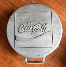 COCA-COLA RARE 70's Vtg Aluminum BOTTLE CAP Portable Charcoal Grill BALCAR BBQ