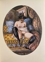 Victorian Era Erotik Sex Art Love Nude Erotic Vagina Breast Nude England 1880