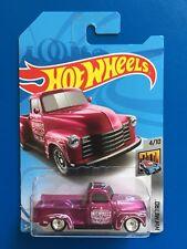 THT 2018 Hot Wheels SUPER TREASURE HUNT CUSTOM V8 1952 CHEVROLET PICKUP TRUCK!