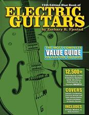 BLUE BOOK OF ELECTRIC GUITARS - FJESTAD, ZACHARY R. - NEW PAPERBACK BOOK