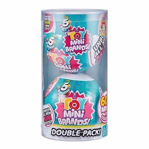 Zuru 5 Surprise Toy Mini Brands Capsule Double Pack 60 miniature toys gift NEW