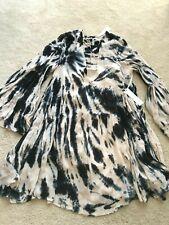 NWT NEW Young Fabulous & Broke tie dye dress long sleeve camisole M MEDIUM 8 10