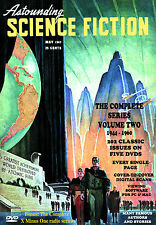 COMPLETE ASTOUNDING SCIENCE FICTION Volume Two (1944-1960) 202 Issues on 5 DVDs