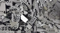 U☀️ 100+ LIGHT GREY GRAY LEGO PIECES FROM HUGE BULK LOT BRICKS PARTS @  RANDOM