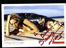 Tonya Kinzinger Autogrammkarte Original Signiert## BC 2168