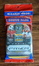 2020 Panini Prizm Football Cello Fat Pack - Factory Sealed - Free Shipping