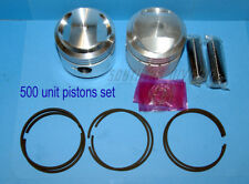 TRIUMPH 500 UNIT 1958-t100 Compression Piston Set 15123 .020 Oversize piston