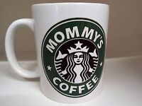 Mummy coffee Starbucks inspired 11oz ceramic mug mothers day xmas christmas gift