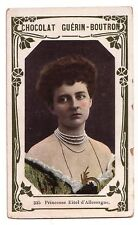 1900s French Trade Card Princess Eitel - Duchess Sophia Charlotte of Oldenburg