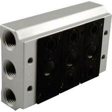 Norgren v53d502 colector para v53 Serie 5 PUERTOS Bobina Válvula G1 / 2 Ports