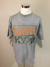 VTG 90s KARL KANI Jeans Trashed T-SHIRT Sz Large Hip-Hop Rap 2Pac Biggie Nas