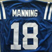 PEYTON MANNING INDIANAPOLIS COLTS REEBOK AUTHENTIC NFL FOOTBALL JERSEY 48