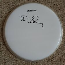 "Brian Downey 'Thin Lizzy', hand signed in person 10"" drum skin."