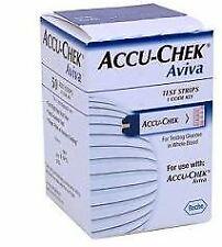 Accu-Chek Aviva 50 Pezzi Strisce Reattive per la Misurazione della Glicemia