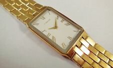 Lassale by Seiko Gold Tone Stainless Steel 7N00-5D20 Sample Watch NON-WORKING