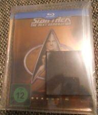 Star Trek Next Generation Season 2 Blu-Ray Dt. Steelbook Neu OVP Lit. Edit. Pin